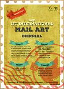 1st INTERNATIONAL MAIL ART BIENNIAL