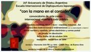 """""""con la mano en el corazón"""" Shiatsu Argentina  Escuela Internacional de Digitopuntura Japonesa"""