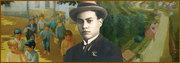 about 100 (hundredth)  Literary anniversary of writer José Maria de Ferreira de Castro, born in Oliveira de Azeméis, PORTUGAL
