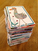 365 bird migration mail-art call in reverse...